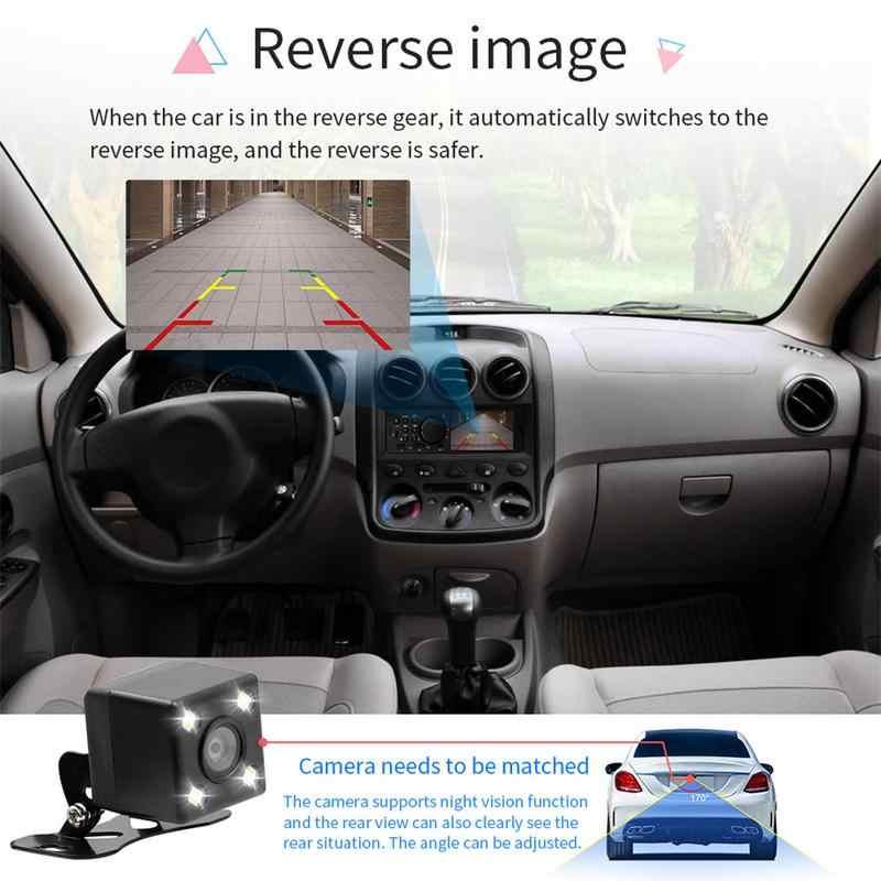 Плеер автомобиля 4,1 дюйма Автомагнитола аудио стерео FM радио Bluetooth MP5 плеер может быть подключен к заднего вида Камера