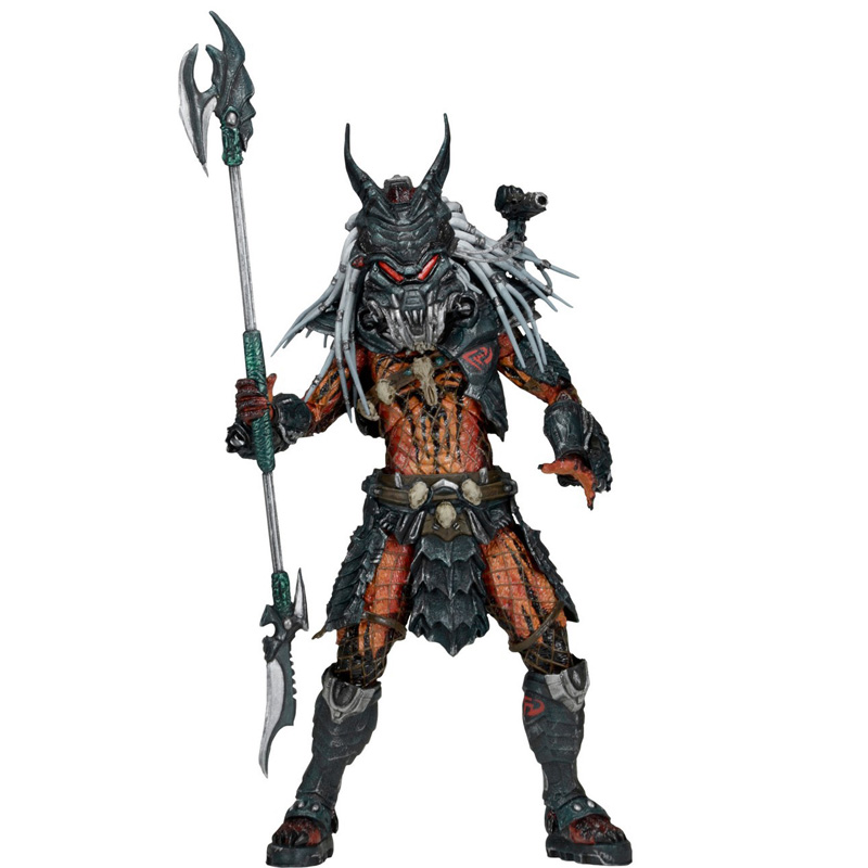 2018 NECA Predator Kenner leader Clan chief action figure toy NECA Predator PVC figures toy Christmas gifts for children kids