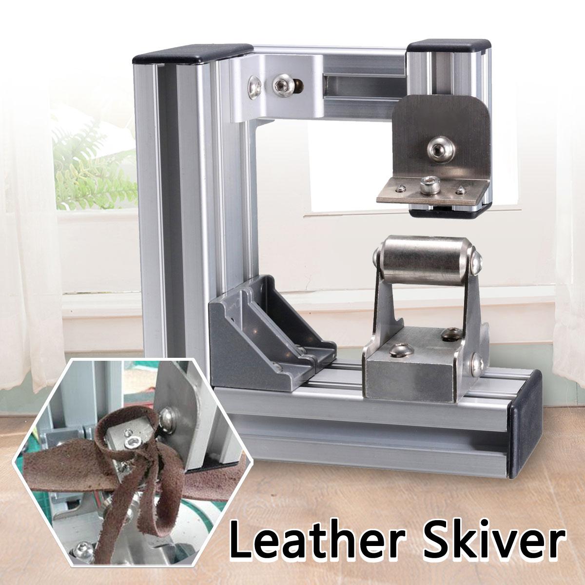 En cuir Skiver machine séparatrice Bord Biseauter À Éplucher Cutter Leathercraft bricolage Outil