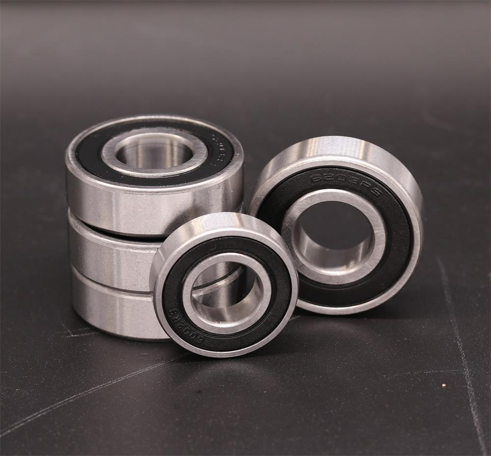sourcing map 608ZZ Deep Groove Ball Bearing 8x22x7mm Double Shielded Chrome Steel Bearings 2-Pack
