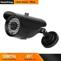 HomeFong CCTV Camera for video intercom 1200TVL IR Nightvision Indoor / Outdoor Waterproof camera HD CMOS security Analog Camera