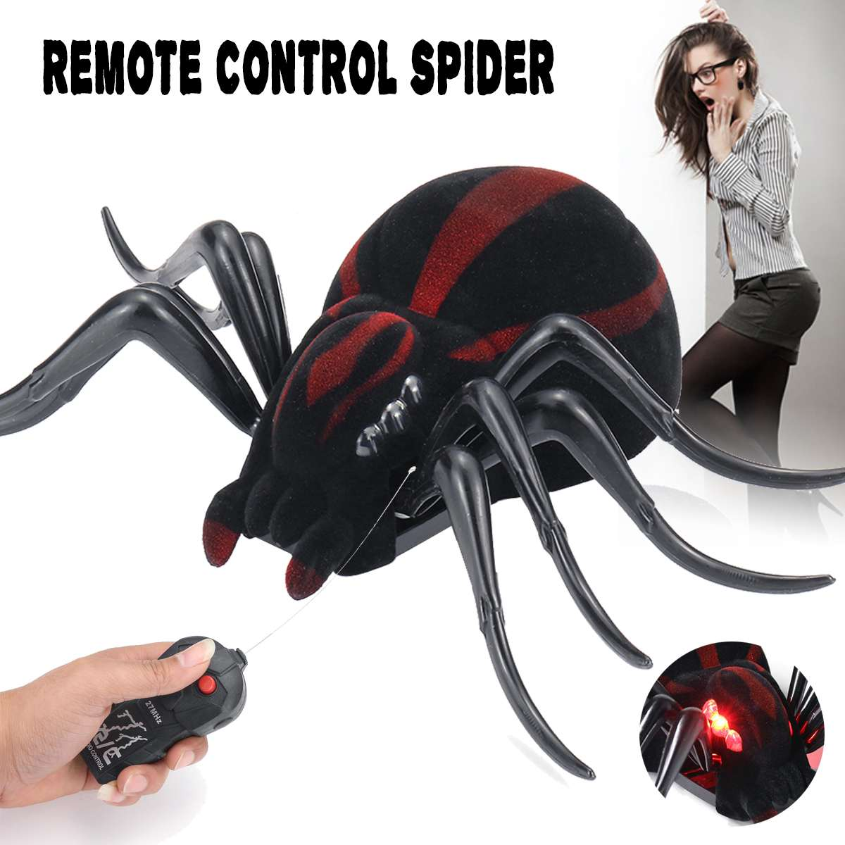 Electronic Pets Infrared Remote Control Toys Mock Fake Cockroach Rc Prank Insect Joke Scary Trick Bugs For Party Joke Practice Entertainment P37 Products Are Sold Without Limitations