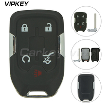 цена на Remotekey HYQ1EA 4+1 button for Chevrolet Suburban Tahoe 2015 Replacement smart car key shell case