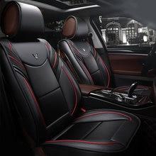 Черные роскошные автомобильные подушки из искусственной кожи