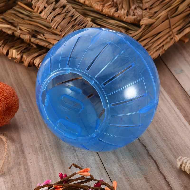 Plastikowe zwierzęta gryzonie myszy Jogging zabawkowa piłka chomik szczur myszoskoczek piłki do ćwiczeń zabawki 3 style zabawka dla chomika akcesoria dla chomików