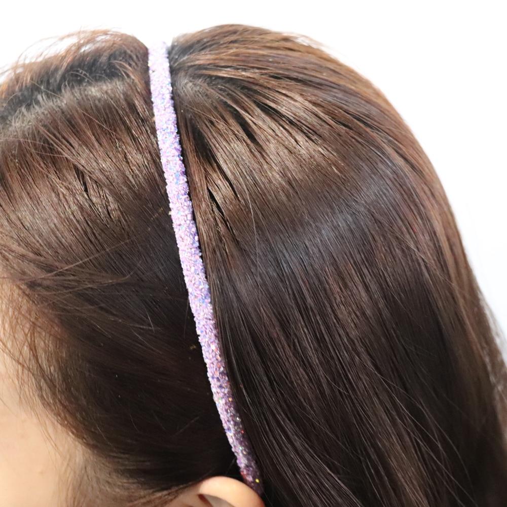 Closeout DealsNcmama Bling Headbands Hair-Accessories Hair-Hoop Glitter-Hairband Candy-Color Korean