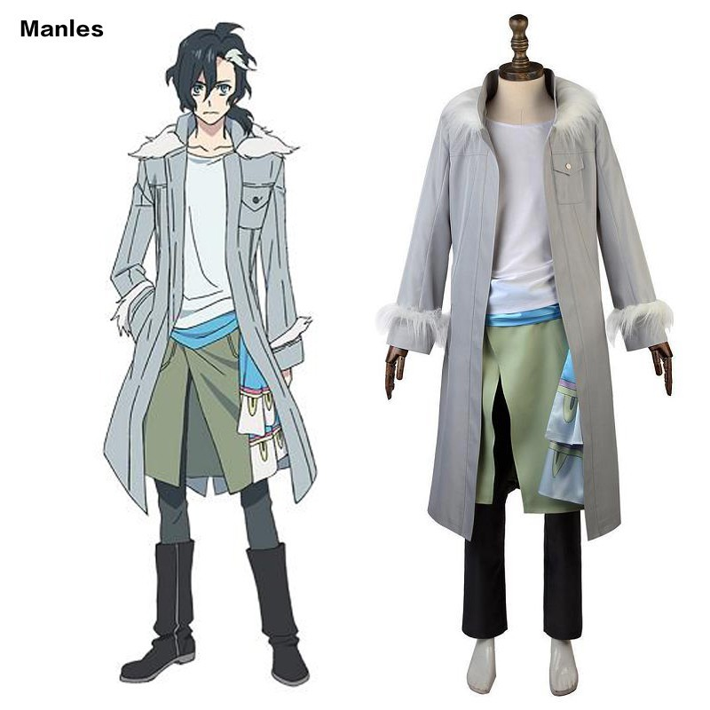 Anime Sirius The Jaeger Cosplay Yuliy Costume Uniform Halloween Carnival Outfit Men Coat Trench Pants Adult Full Set Custom Made