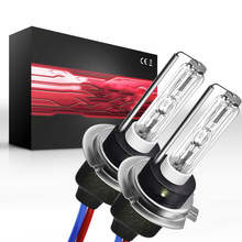 35W H7 HID Xenon Replacement Bulbs Headlight Lamp Light 6000k 8000K 1000K HID Car Headlights TXVSO8 Xenon Lamp(China)