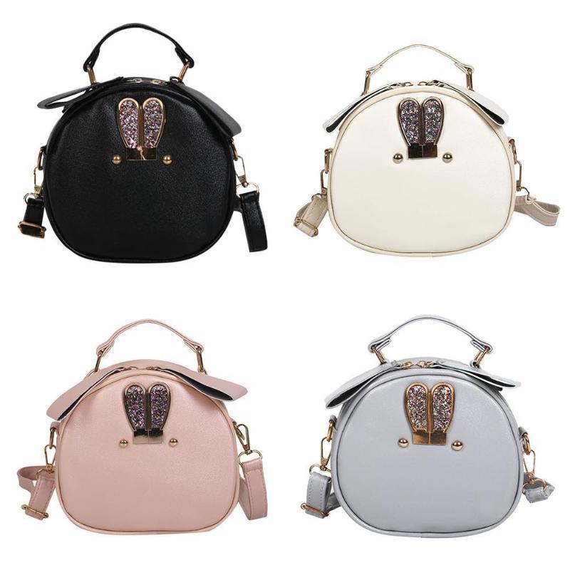 Shoulder Handbags Messenger-Bag Crossbody-Bags Trendy Women Bolso PU Z70 Ear Rabbit Girls