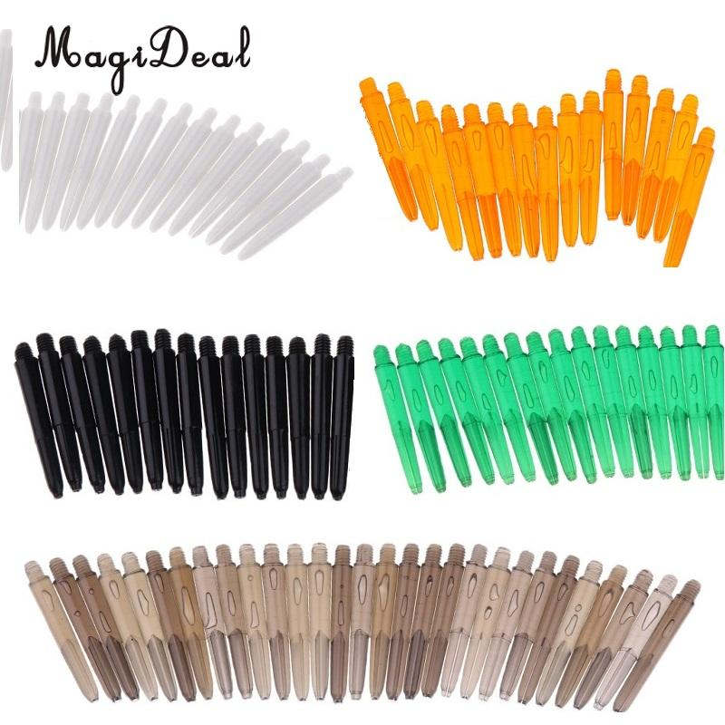 Indoor Game 30 Pcs/lot  35mm 2BA Thread Plastic Nylon Soft Tip Darts Stems / Shafts Darts Replacement