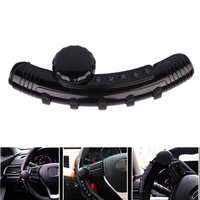 5Key LED Car Steering Wheel Controller Spinner Knob Music Wireless DVD GPS Navigation Steering Wheel Radio Remote Control