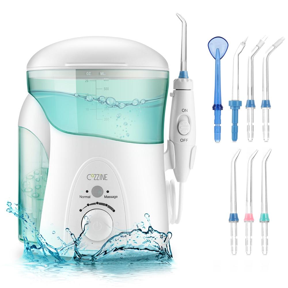 COZZINE FC288 600ML Oral Irrigator Jet Water Flosser Dental Floss Teeth Cleaner Oral Care Oral Hygiene Irrigator Oral Irrigation
