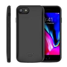 Torubia Батарея Зарядное устройство чехол для 4,7 дюйма iPhone 6 6s 7 8 чехол 4000 мА/ч, Мощность банк Батарея зарядки Зарядное устройство чехол для iPhone 5 5S