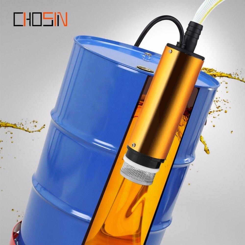 12l/min Dc Elektrische Tauch Pumpe Für Pumpen Diesel Öl Wasser 12 V 24 V Aluminium Legierung Shell Kraftstoff Transfer Pumpe 12 V Volt Durchblutung GläTten Und Schmerzen Stoppen