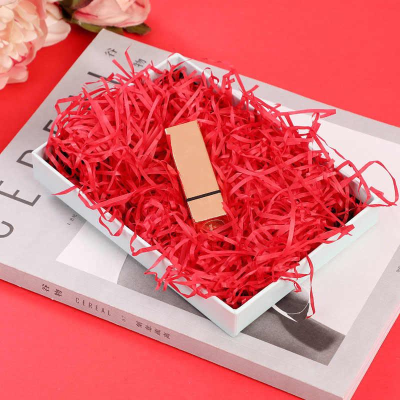 10g na worek papier do majsterkowania rafia rozdrobnione konfetti Chrisrtmas pudełko materiał do wypełniania ślub małżeństwo Home Decor Decoration 62456