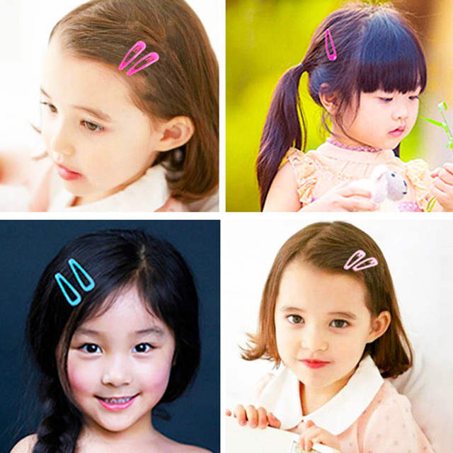 Unique 1Pair Hair Accessories Allergy Free 8 Colors Girls Hot Sale 2019 New Arrival Dreamlike Gradation Powder BB Clips Kids
