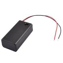 Black Plastic Storage Pair SBH-9V Batteries Switch Battery H