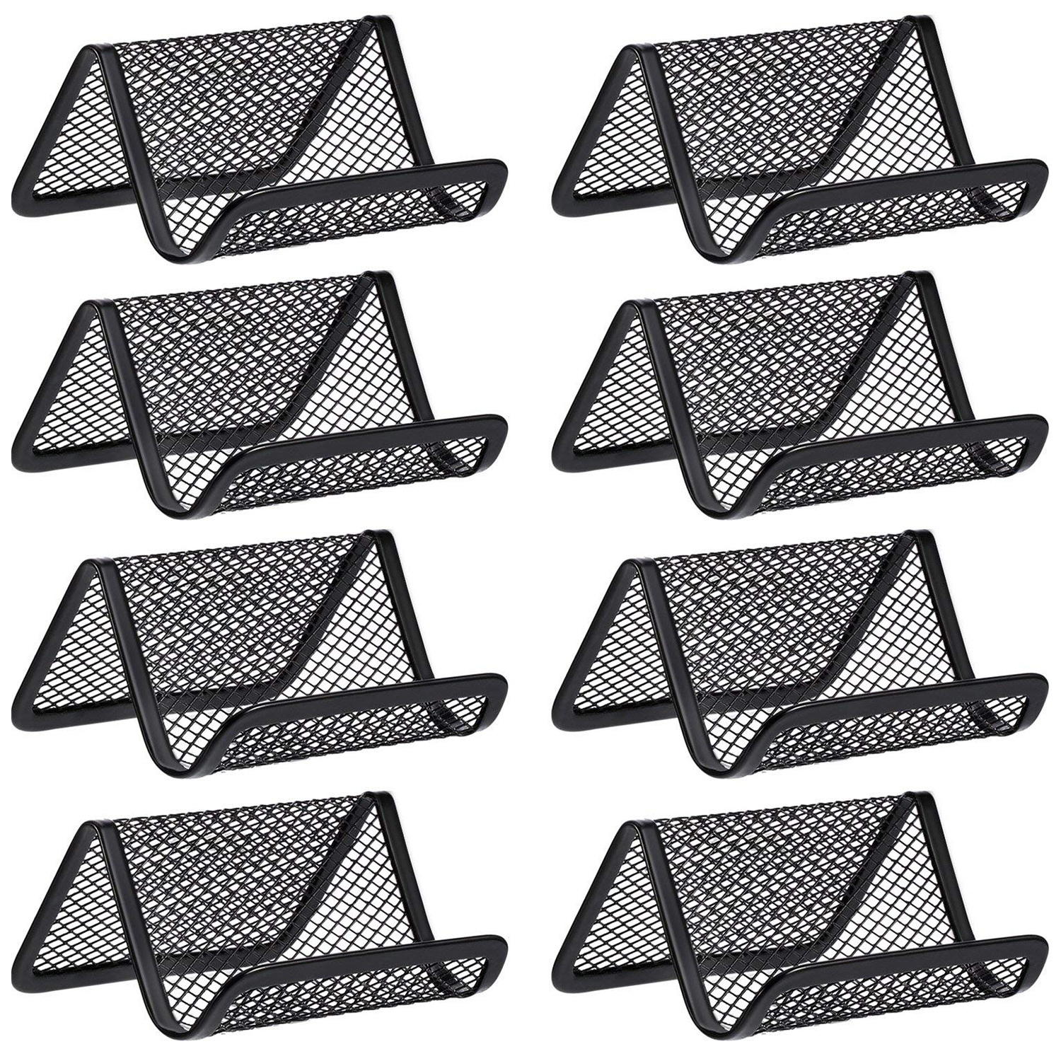 Detail Feedback Questions About 8 Pack Black Metal Mesh Business