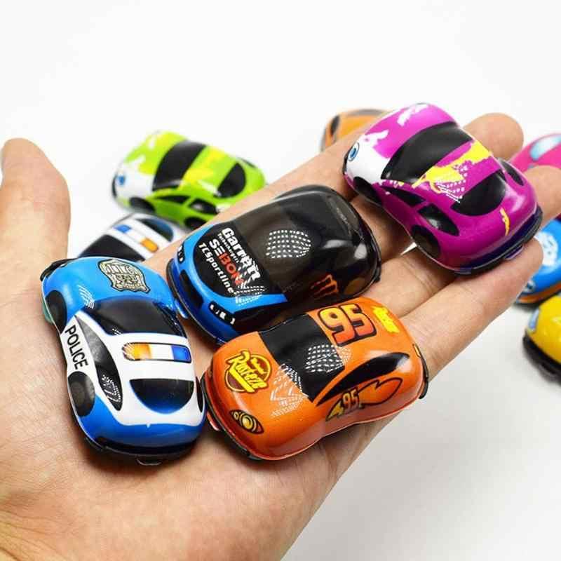 Mini Meninos Pequenos Carros de Brinquedo Do Bebê Dos Desenhos Animados Crianças Mini Caminhão Do Motor Do Veículo de Construção Liga Modelo de Carro Crianças Presentes