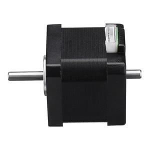 Image 5 - 42BYGH40 1704B Nema17 Stepper Motor 1.8 Degree 42mm Dual Shaft 1.7A Motor for CNC Engraving Machine High Quality