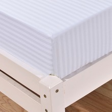 Fitted Sheet On Elastic 300 Thread Count 100% Egyptian Cotton Bed Sheets Twin/Full/Queen/King/C-King Linen Cotton Fitted Sheets