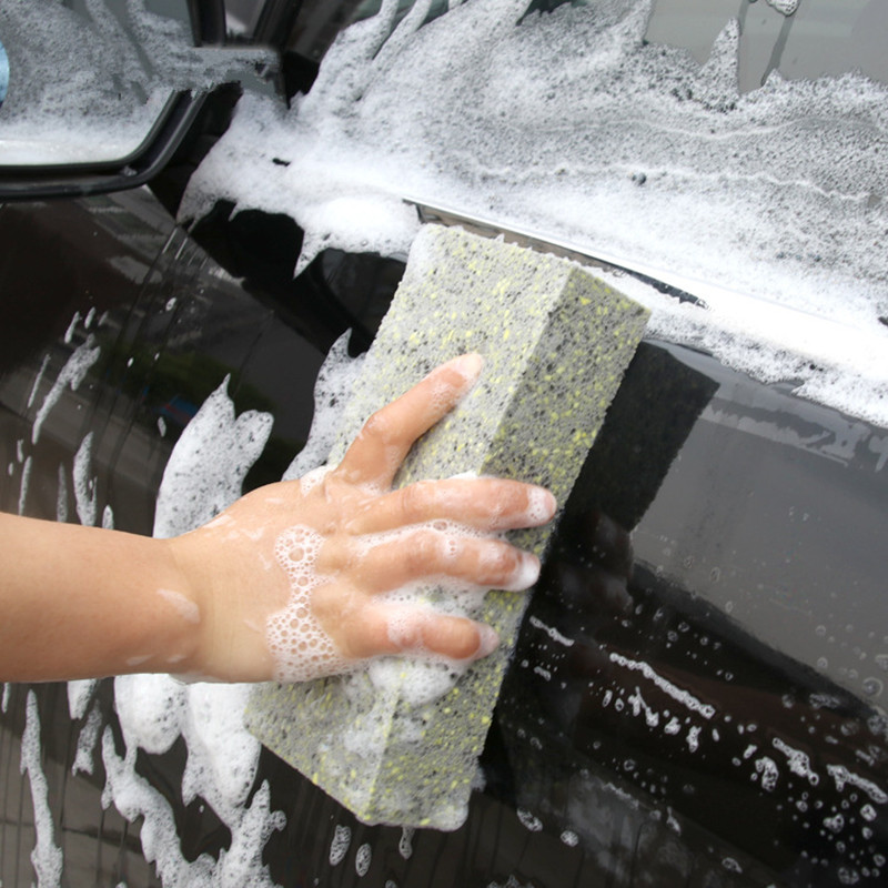 PVA cleaning sponge cleaning cotton car wash tool glass cleaning tool Wax sponge Pad Car Accessorie polishing pad applicator pad in Sponges Cloths Brushes from Automobiles Motorcycles