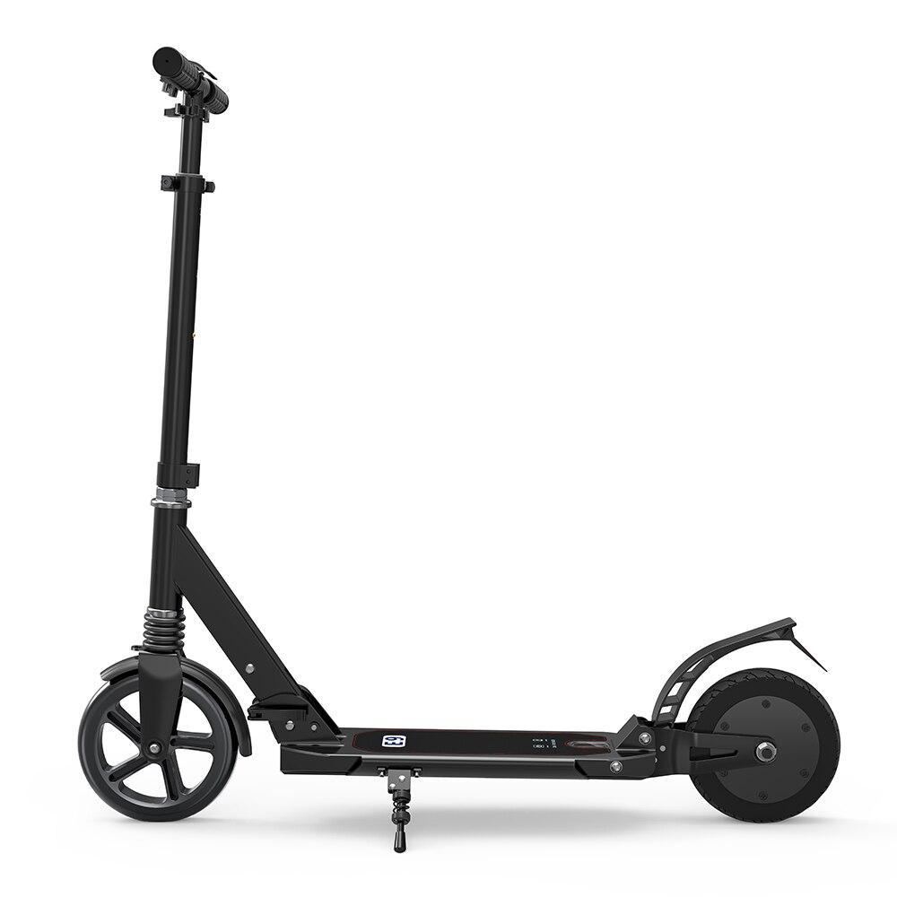 Puissant Scooter électrique de moteur de 150 W alliage d'aluminium dur Scooter électrique de pliage de 2600 mAh avec la double prise de l'ue de pneu de 8 pouces