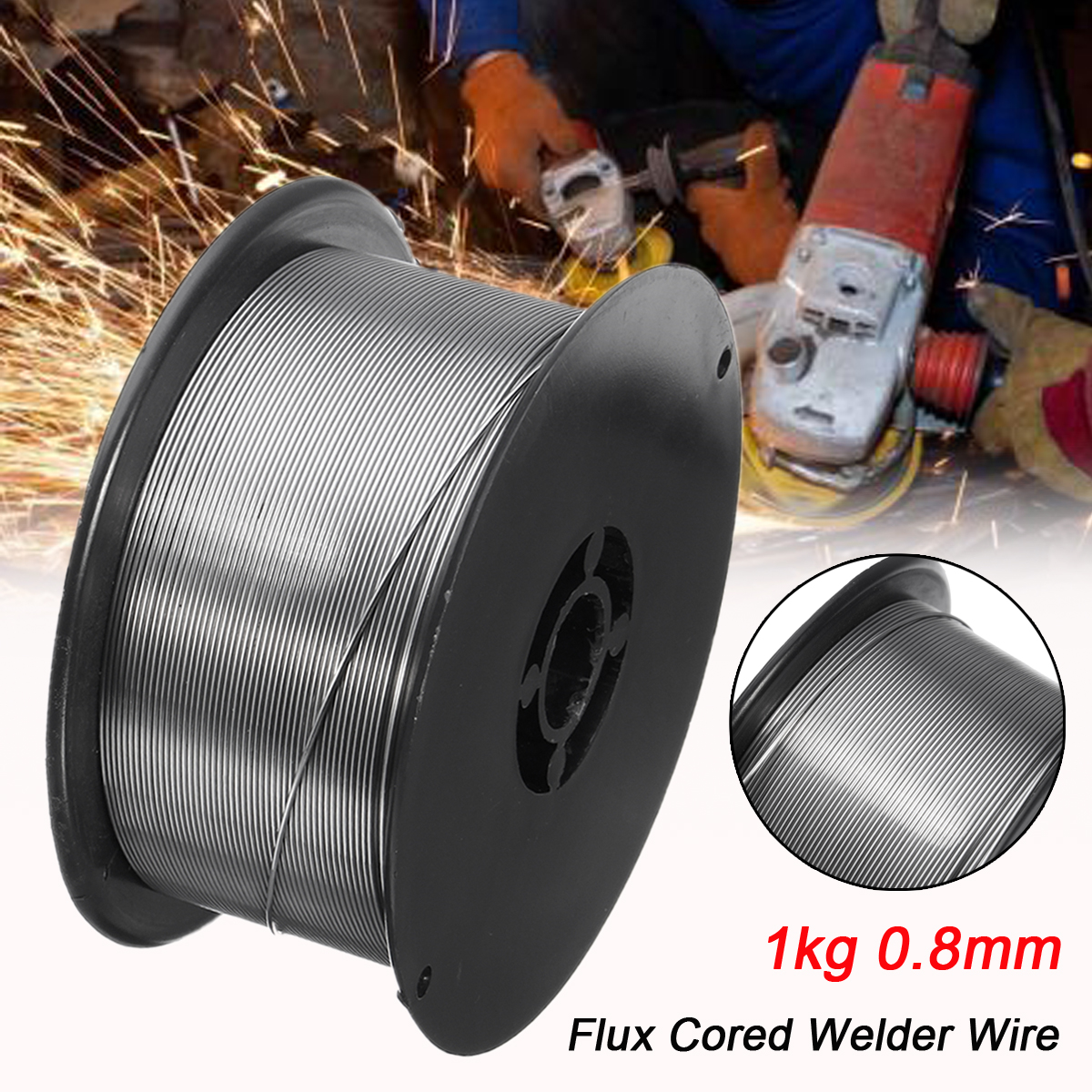 Flux Core Welding Wire >> Us 17 81 9 Off Gasless Mig Welding Wire E71t Gs 1kg 0 8mm Flux Core Welder Wire Steel Flux Cored Welding Wire Without Gas In Welding Wires From