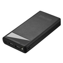 Тип C Dual Usb Qc3.0 7X18650 батарея Diy Power Bank Box зарядное устройство для сотового телефона (без батареи)