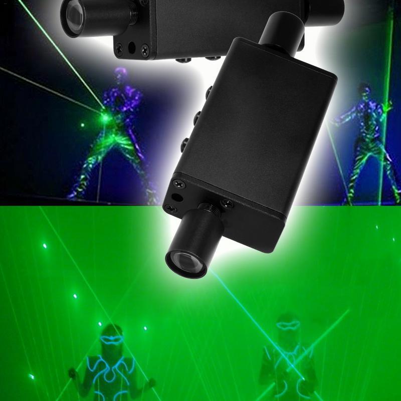 US EU PLUG Double tête Laser épée Laser danse de poche accessoires de scène Laser se réfère à étoile stylo faisceau épais