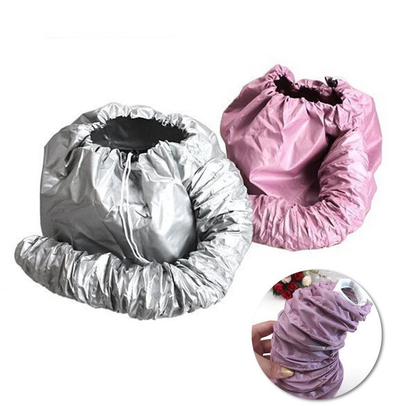 Practical Home Salon Barber Hair Dryer Bonnet Hood Head Cover Baked Oil Cap Hat Hair Steamer Bonnet For Women Hair Care Cap