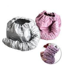 Практичный домашний салон парикмахерский фен для волос капот крышка для головы запеченная масляная шапка для волос Пароварка капот для женщин Уход за волосами шапочка