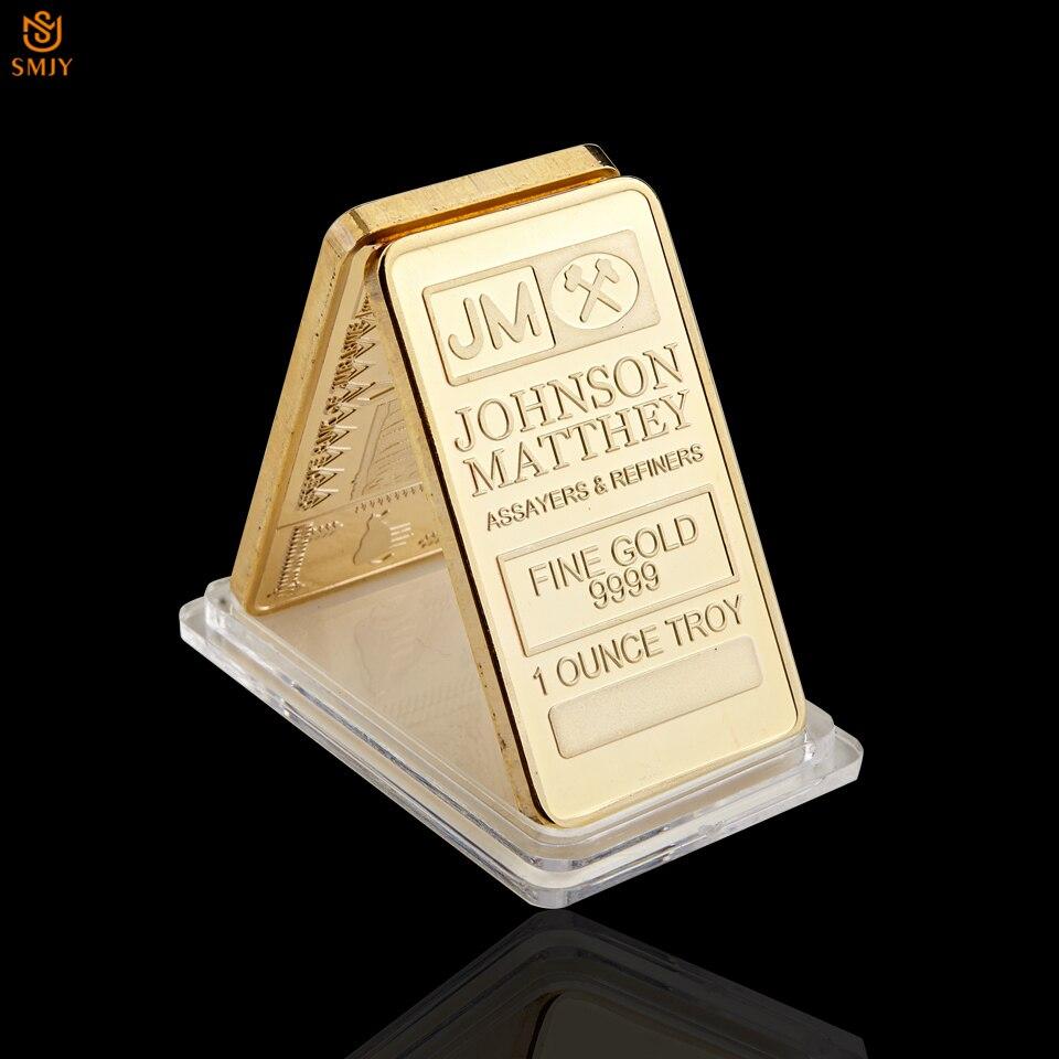 Jmjohnson Matthey Emasperak 999 1 Ons Troy Replika Bar Koleksi