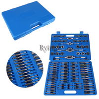 * 110PCS/Lot M2 M18 Screw Nut Thread Tap & Die Tool Set with Wrench Handle Heavy Duty Hand Tool Kit Accessory