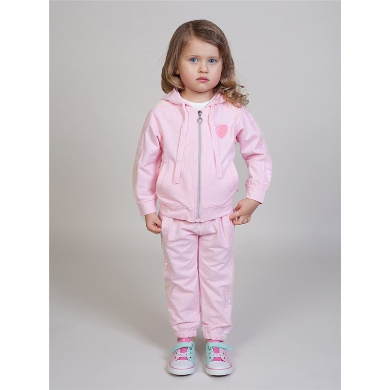 Children's Sets Sweet Berry Set of knitted for girls: sweatshirt, trousers children clothing kids clothes tracksuit girls sports suits autumn clothes long sleeve sweatshirt pants sets for girl black white clothing 9 10 12 14y