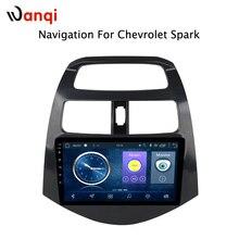 Бесплатная доставка android 8,1 Автомобильная dvd-навигационная система плеер стерео для CHEVROLET 2010 2011 2012-2014 Spark Beat