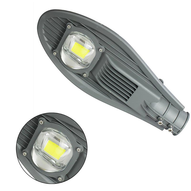 AC 165V-265V 30W 50W Led Street Light Waterproof IP65 Led Streetlight Road Garden Lamp Warm Cold White Spotlights Wall Lamp