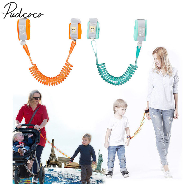 CHILDS  WRIST LINK STRAP BABY//TODDLER SAFETY REIN ADJUSTABLE ELASTICATED RIBBON