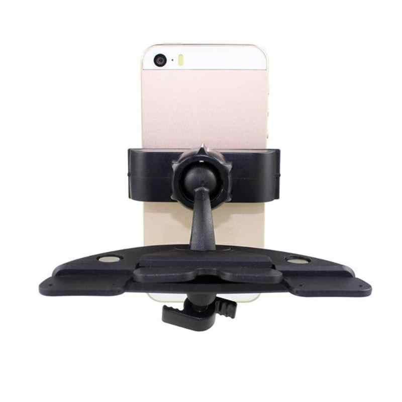 Car Auto 360 องศาการหมุน CD Mount สำหรับ Iphone โทรศัพท์มือถือ - จัดแต่งทรงผม Universal 3.5-6 นิ้วรถ Mount Holder
