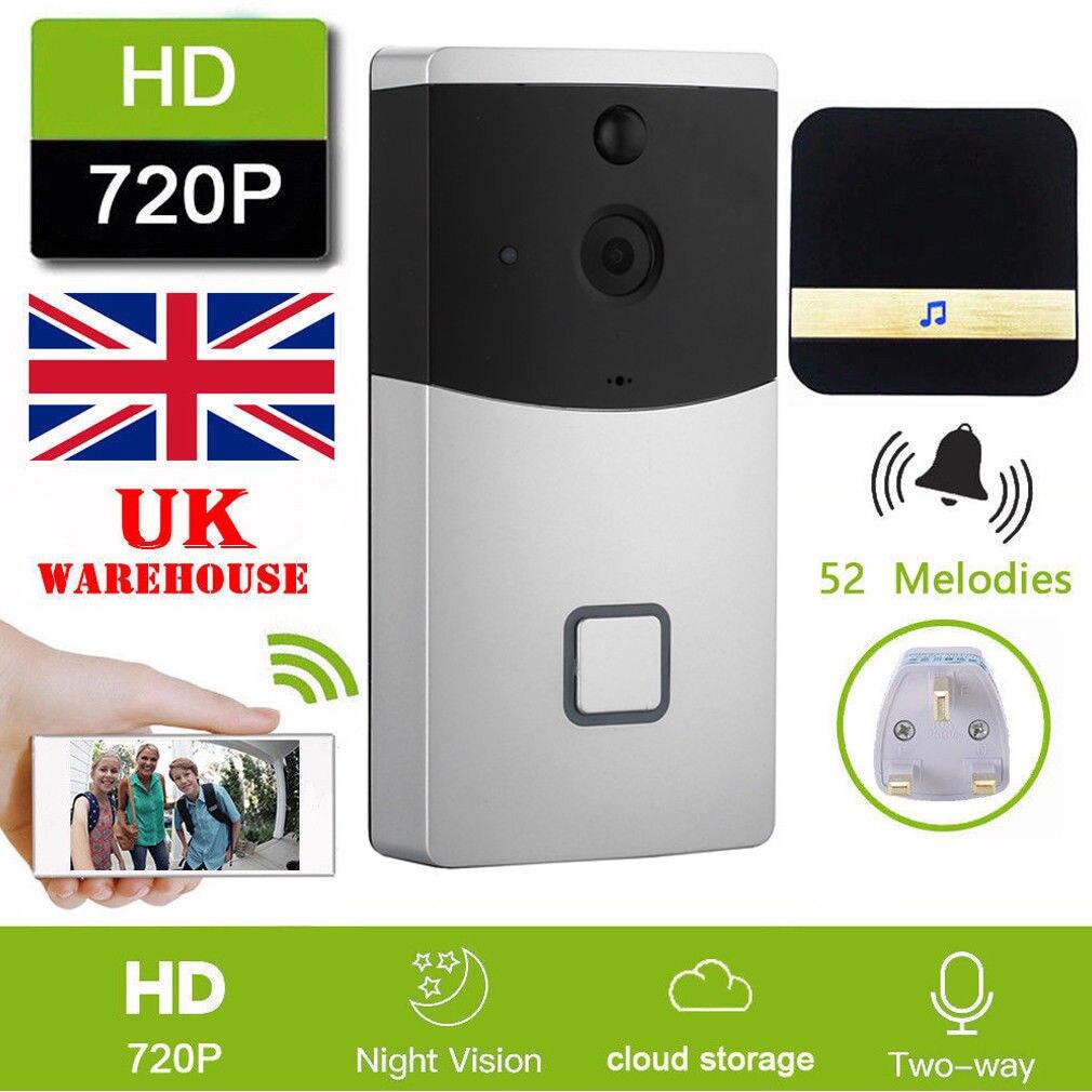 New WiFi Ring Doorbell Smart Wireless Bell Camera Video Phone Intercom Home SecurityNew WiFi Ring Doorbell Smart Wireless Bell Camera Video Phone Intercom Home Security