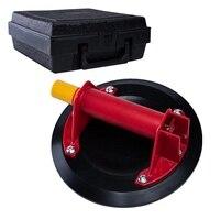 ハンドツール吸引カップビッグサイズ 8 インチ 206 ミリメートル真空ポンプガラスリフター吸盤吸引パッドとデントプーラーケース