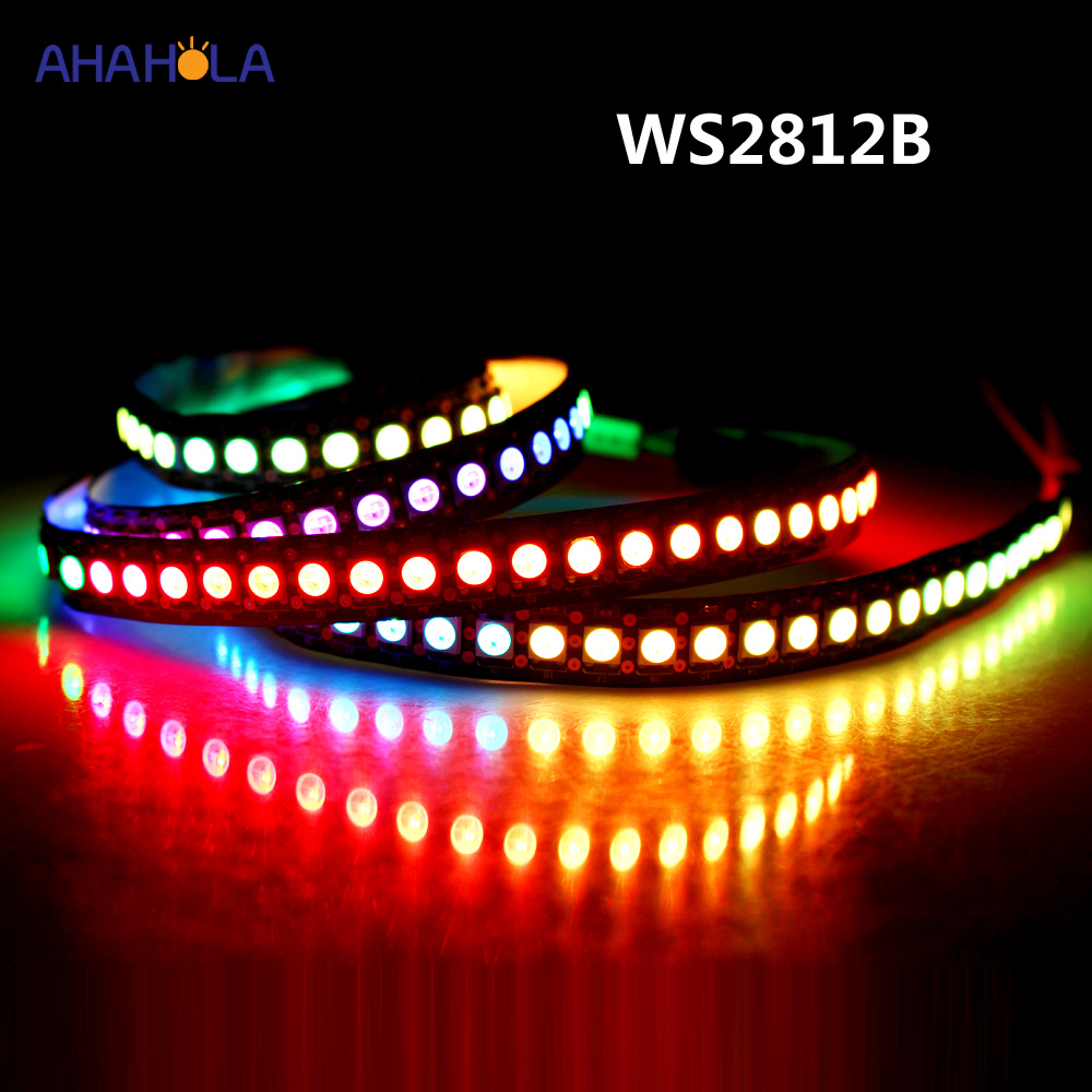 5v Addressable Ws2812b In 5050 Rgb Led Strip Waterproof Ambilight Tv Backlight Diode Tape Rgb Led Light Strip Ws2812 Ws2812b 5v