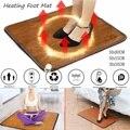 3 размера  офисный нагревательный коврик для ног  зимний домашний электрический нагревательный коврик  теплые ножки  термостат  ковер  кожа  ...