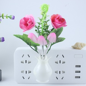 Image 4 - Nachtlampje Keuken Bedside Light Sensor Controle Led Lamp Paddestoel Tulp Bloem Nachtlampje Voor Home Decor Kinderen Nachtlampje