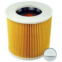 4 adet hava toz Hepa filtre Karcher için dolgu 1000 A2200 A3500 A223 WD2.200 WD3.500 Karcher elektrikli süpürge parçaları MV2 MV3 WD3