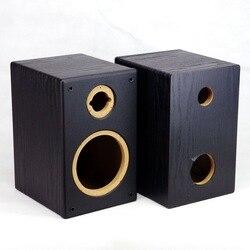 5-inch subwoofer +3 inch treble empty box inverted design wooden empty box passive speaker cabinet for amplifier speaker Audio