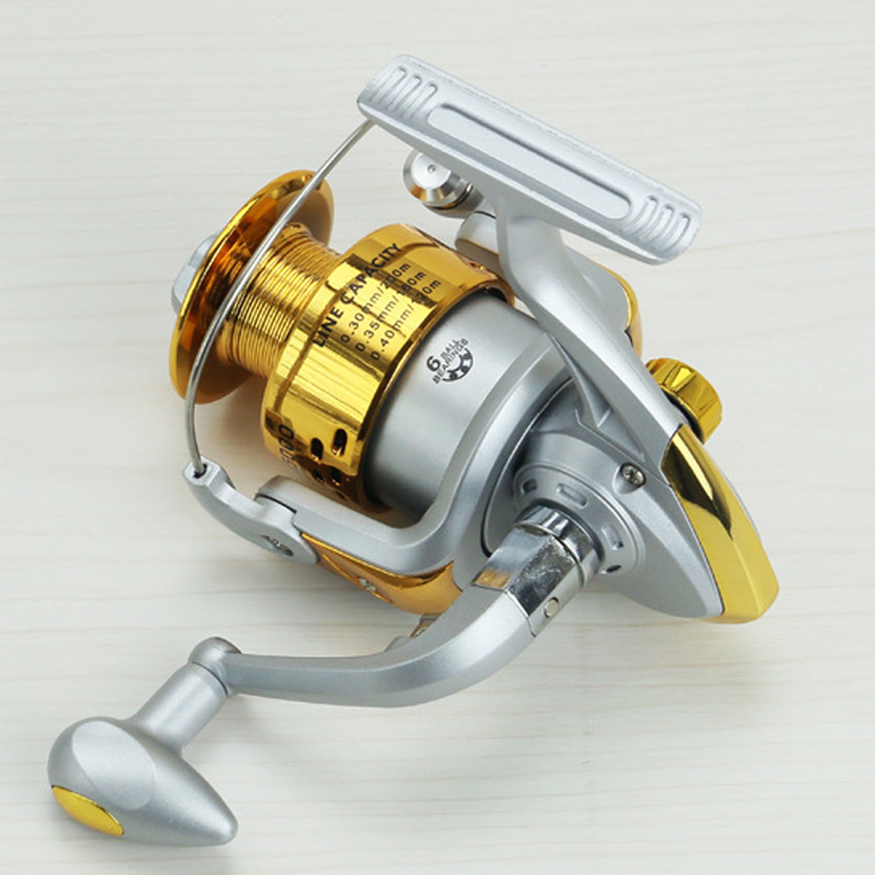 Image 5 - Yumoshi SA1000   7000 6BB Fishing Reel Fly Fishing Reel Carp Feeder Spinning Fishing Reels Carretilhas de pesca Moulinet molinet-in Fishing Reels from Sports & Entertainment