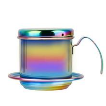 Vietnam Style Coffee Filter Mug Cup Jug Coffee Drip Cup Filter Maker Strainer недорого