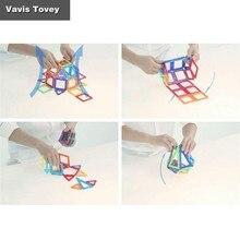 Vavis Tovey магнитные шт сборные блоки Набор детских обучающих магнитов для мальчиков и девочек собранные игрушки