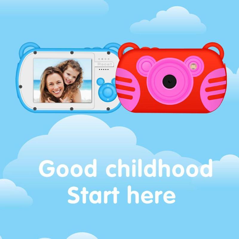 JOCESTYLE Mini Enfants Caméra 8X Zoom Numérique 2.7 pouces Écran 18MP DSLR Caméra Vidéo Enregistreur Caméscope Jouets Cadeaux pour Enfants